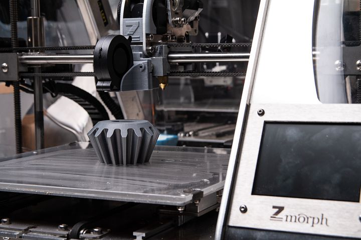 Les fonctionnalités de l'imprimante 3D